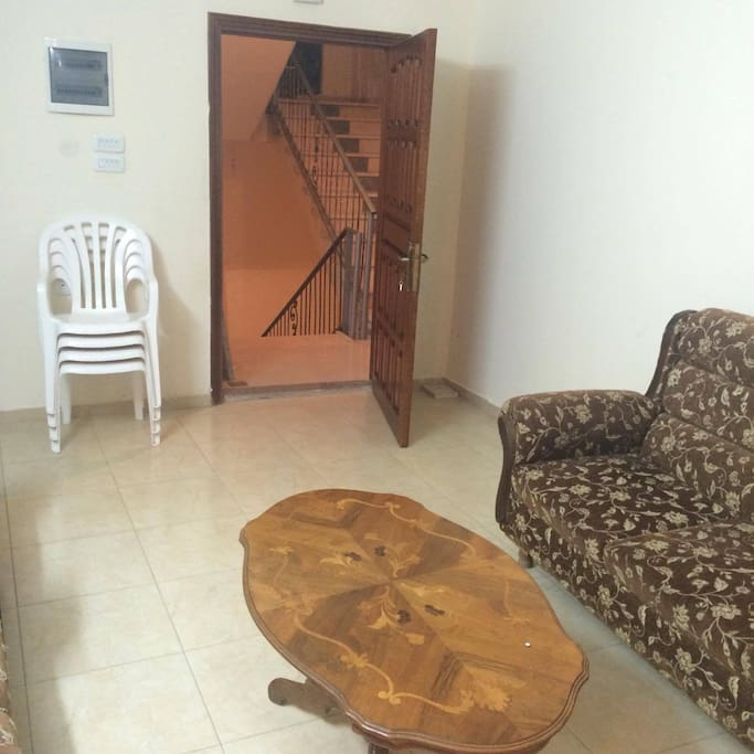 apartment entrance