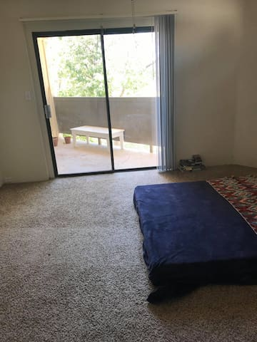 Patio Access in bedroom