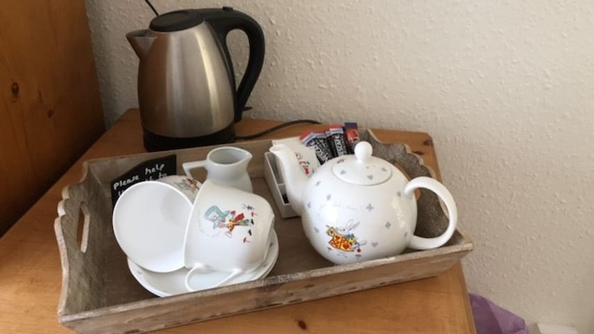 Tea and Coffee in each room