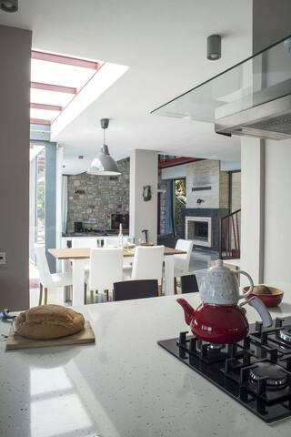Otantik Villadan Muhteşem Manzara - Muğla Bodrum Yahşi - Casa