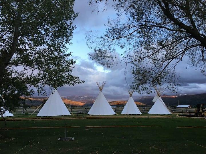 Teton Valley Resort & Campground/Small Tipi 32