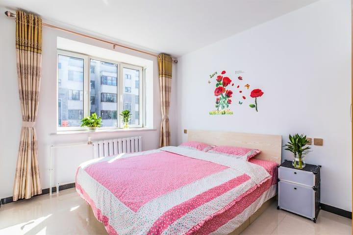 《家的感觉》日租公寓-避暑上庄-普宁寺景区房