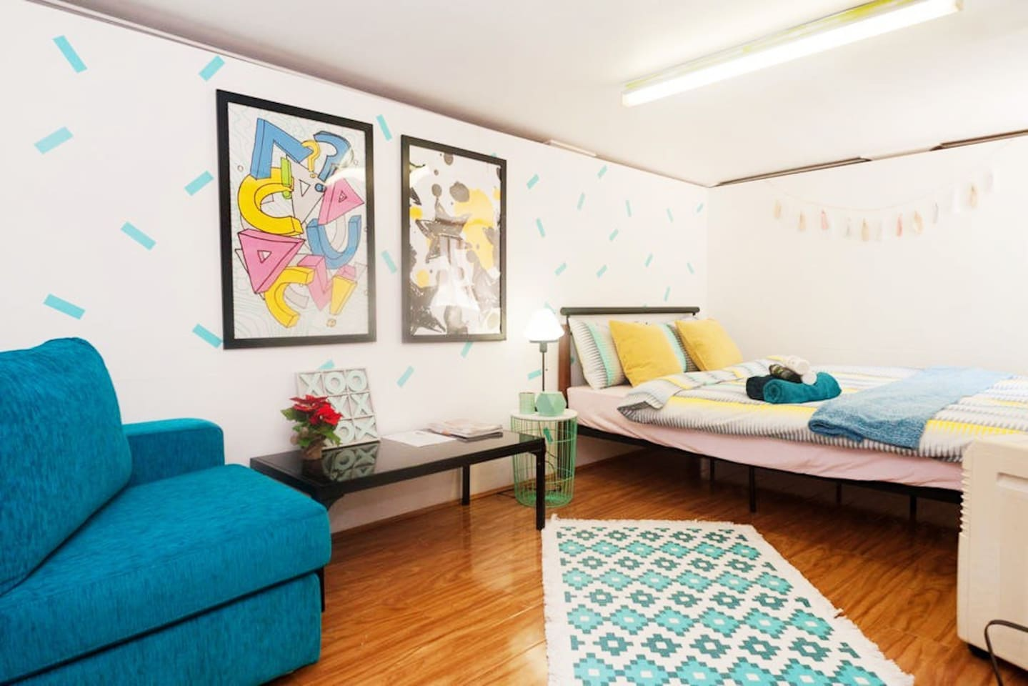 You will have a whole basement for yourself, which includes a private bedroom and a study room ! It is super spacious and private.