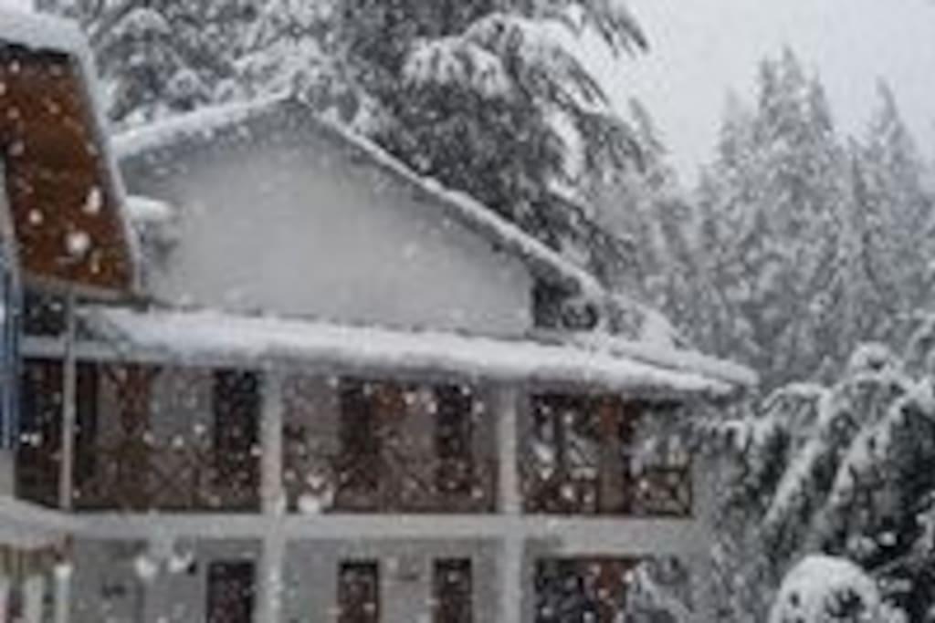 Van Serai during winters
