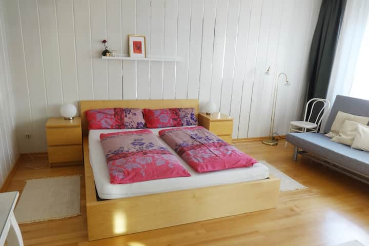Big cosy room, with own Shower & Toilette
