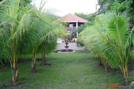 Large, beachfront house in Nicaragua, sleeps 12