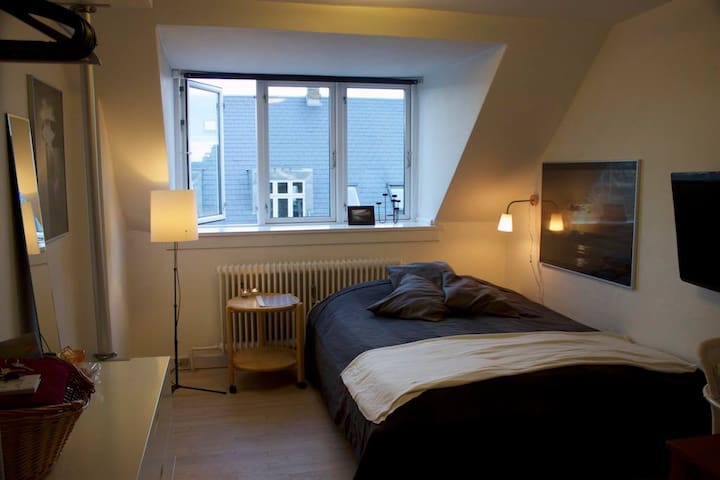 Large, central and bright room CPH