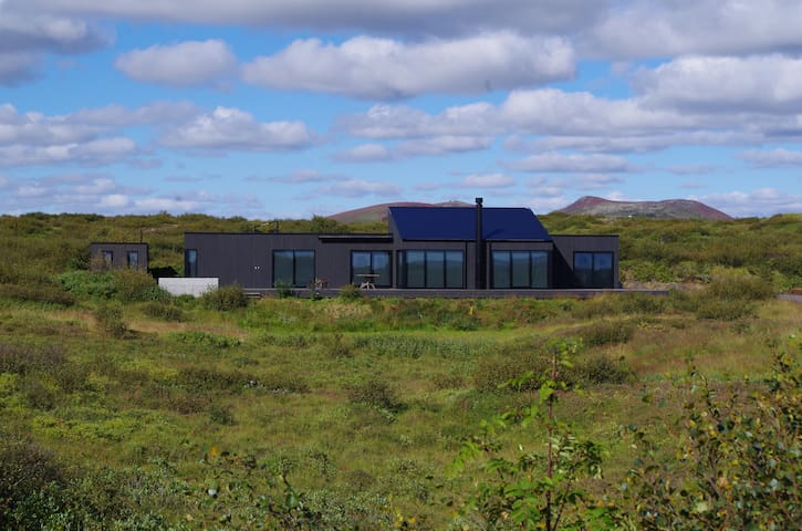 Luxury chalet with a sports court - Selfoss - Casa