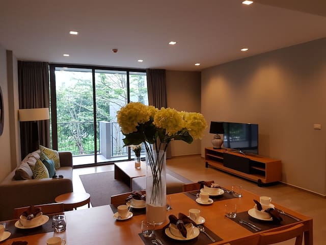 Mini penthouse 3 BR.(Over 104m2)The valley Khaoyai