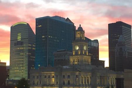 Roomy loft with great views! - Des Moines - Apartament