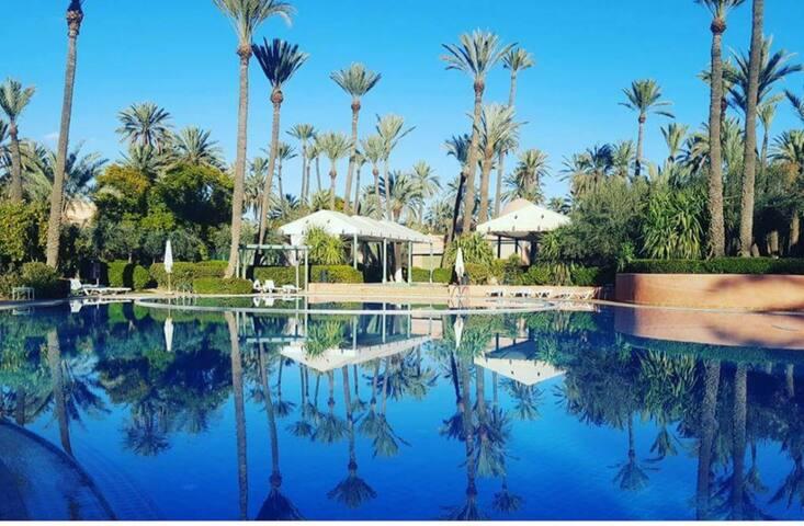 Résidence de luxe palmeraie Marrakech