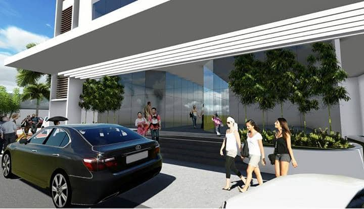 Condo Unit ( 4E) steps to Ayala Mall with Wi-Fi