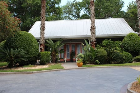 Cottage on a private estate - pool, tennis & beach - Ponte Vedra Beach