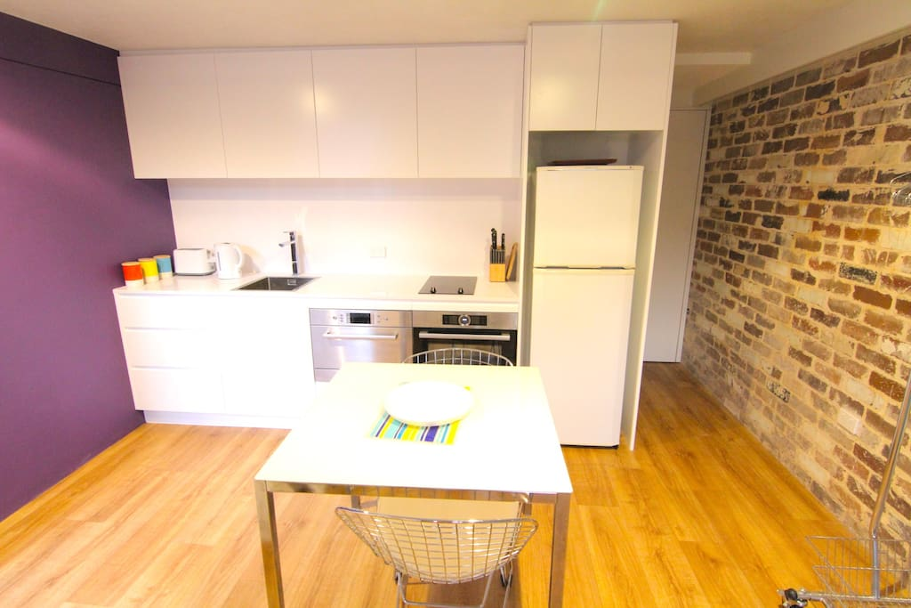 New & modern kitchen (private)