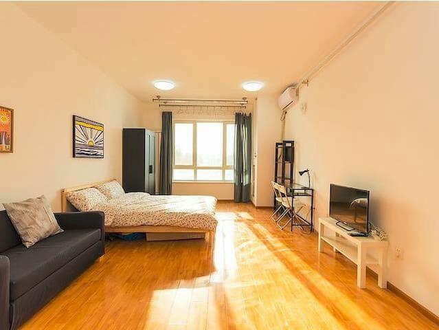 Modern IKEA style flat, near subway - Beijing - Lägenhet