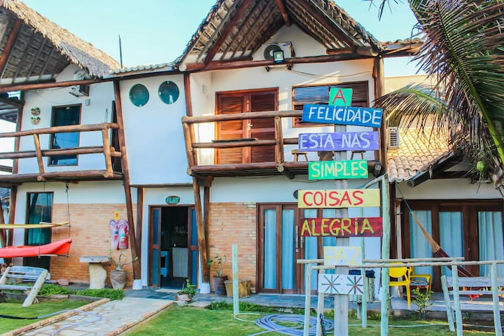 Casa à Beira Mar com área de lazer