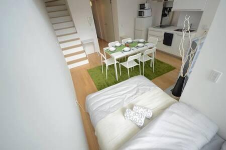 Highgrade condo 8ppl/Namba Sta1min/Free Wifi+PC - Condominium