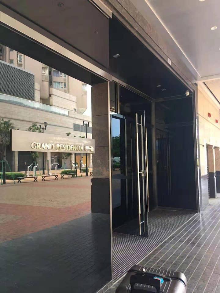 澳門君薈: 1200 sf with 2 bathrooms and 2 bathrooms
