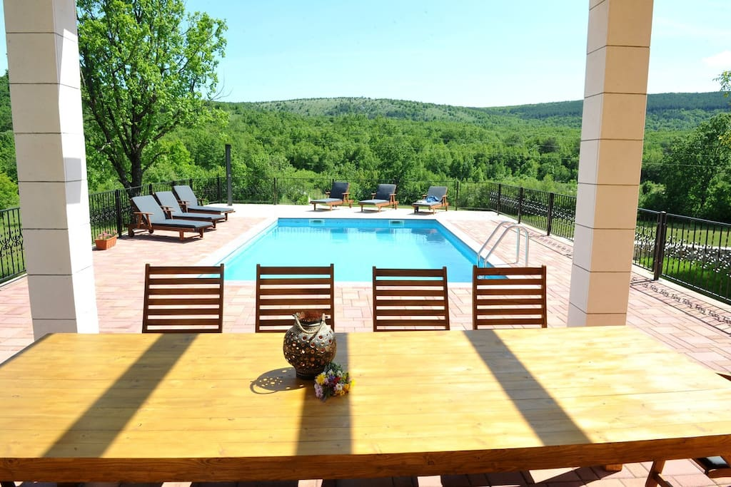 Detached Holiday Home With Swimming Pool Villas For Rent In Tijarica Splitsko Dalmatinska