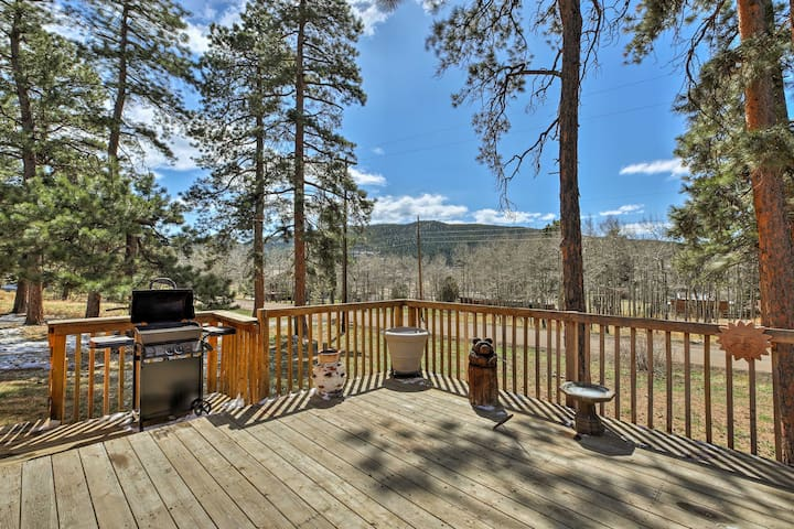 Remodeled Conifer Cabin w/ Deck & Mountain Views!