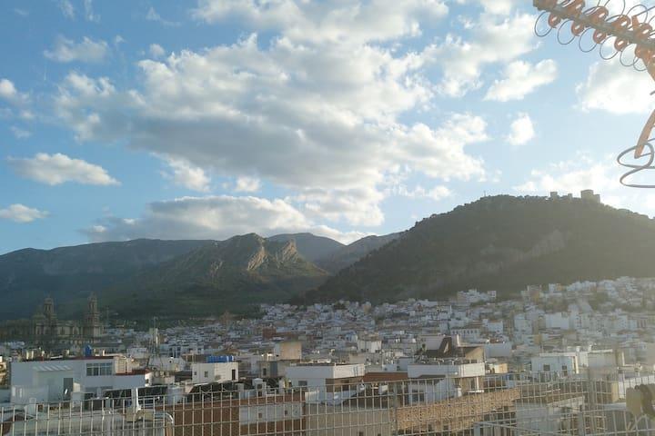 Loft céntrico, con vistas en Jaén