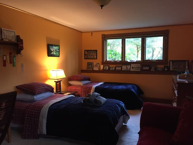 Warm,cozy and spacious 12 minutes from Middlebury!