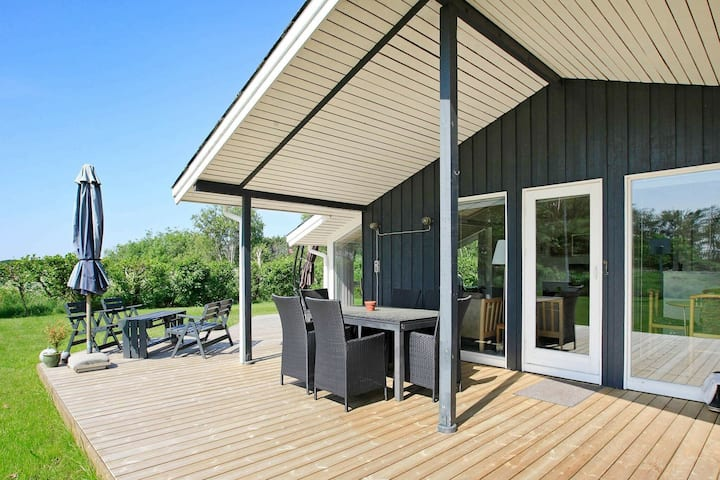 Luxurious Holiday Home in Strandby Jutland With Sea View