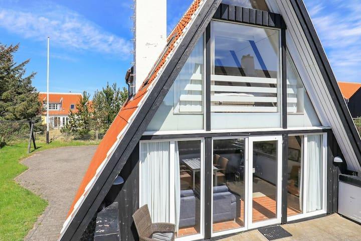Herrliches Ferienhaus in Jütland mit Terrasse