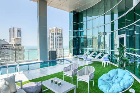 5BR Marina Penthouse I Private Pool & Terrace