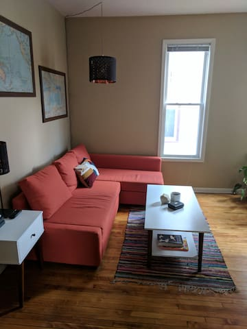 1 Queen Bed, 1 Full Sofabed in NE Minneapolis! - Minneapolis - Lägenhet