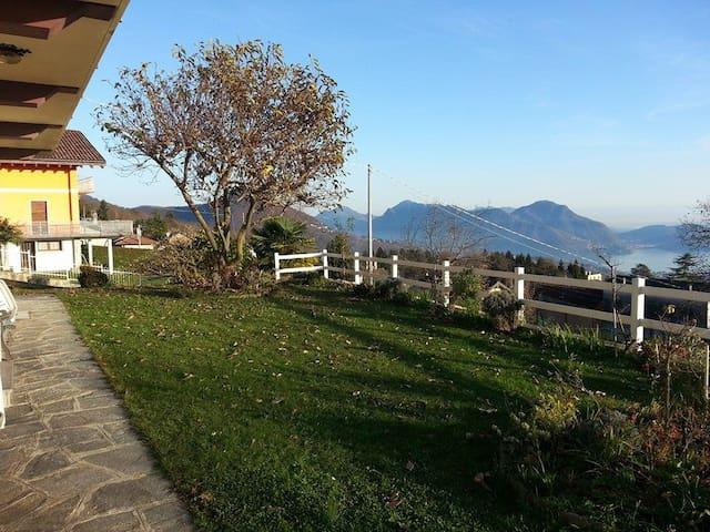 Il Giardino a 800m sul lago - Miazzina - Lejlighed