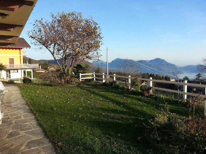Il Giardino a 800m sul lago
