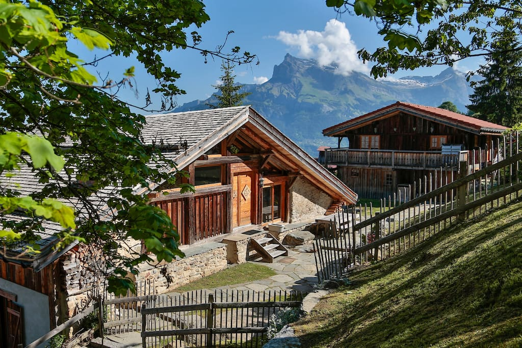 Stylish independent apartment big balcony chalet in - Asciugatrice in balcone ...