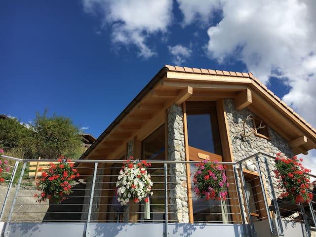 Vue imprenable, Chalet Lombardie, Veysonnaz