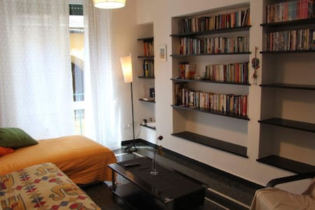 Beautiful, spacious flat near Porto Antico - 热那亚 - 公寓