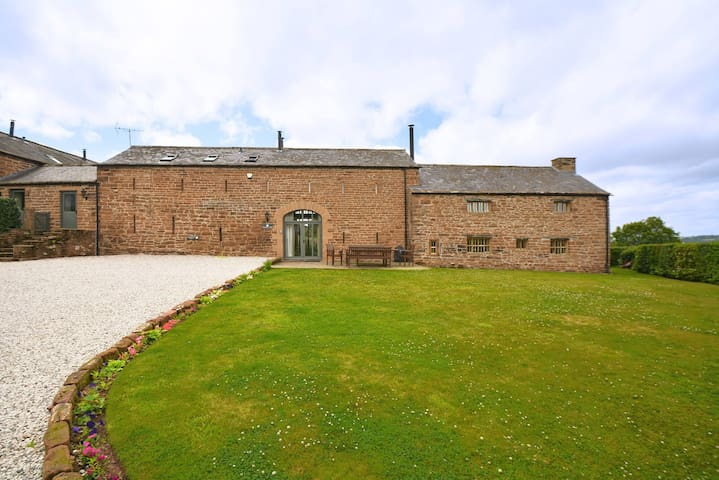 Lavishly restored traditional Cumbrian longhouse with outstanding views. Pet friendly