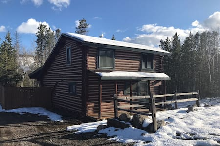 Charming Log Cabin w/hot tub in Winter Park CO!
