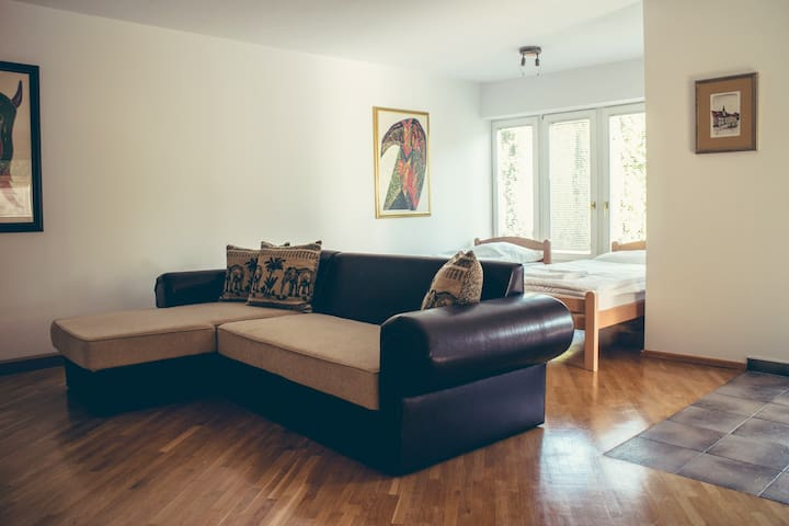 Sunny apartment in the suburb of Maribor
