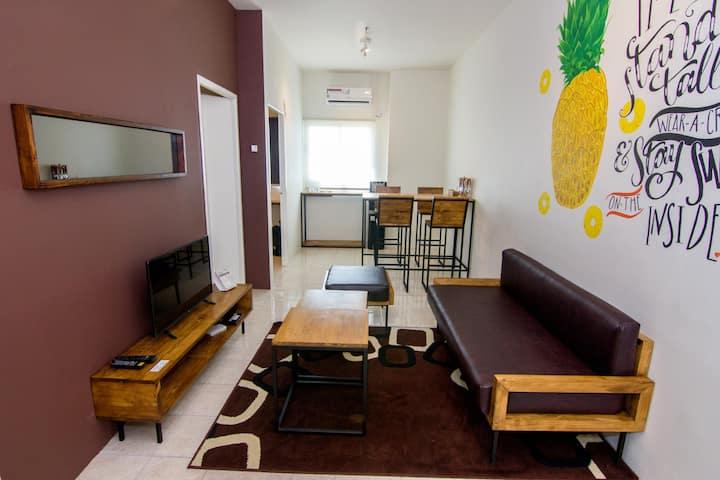 Queen Victoria Apartment Batam (2BR Premium 23 F)