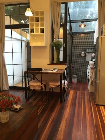【今之&寓】法租界花园洋房1/10/12 地铁零距离 - Shanghai - Wohnung
