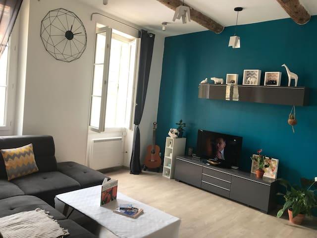 #Appartement centre historique +PETIT DÉJ OFFERT #