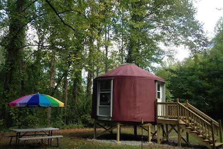 MAGICAL ESCAPE INTO THE WOODS! - Robbinsville - Yurt