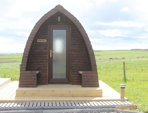 Hillside Camping Pods - Stroma Pod - NC500