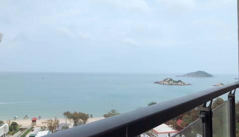 黎•舍 ,南澳岛青澳湾高层双阳台轻奢两房一厅公寓