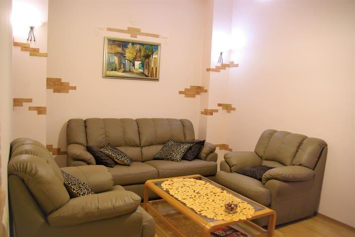 Cosy 2 r. flat on Mykhailivskiy l-ne/M.Zhytomirska - Kiev - Apartment