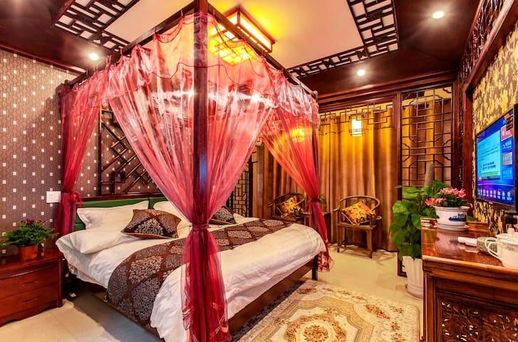 豪华大床房,近景区东入口,近酒吧街 - Jiaxing Shi - Villa