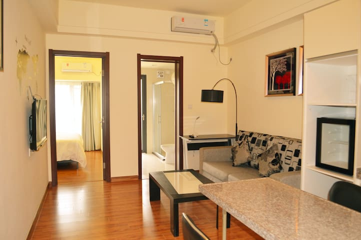 白云机场️免费接送-现代简约整套公寓 - Guangzhou - Apartament