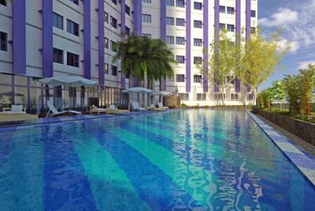 One bedroom condo with skyline view - Quezon - Apartament