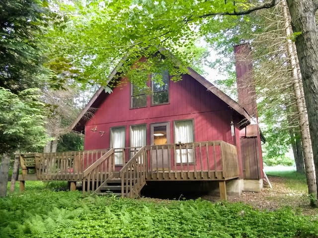 Peaceful escape wooded setting near fun activities