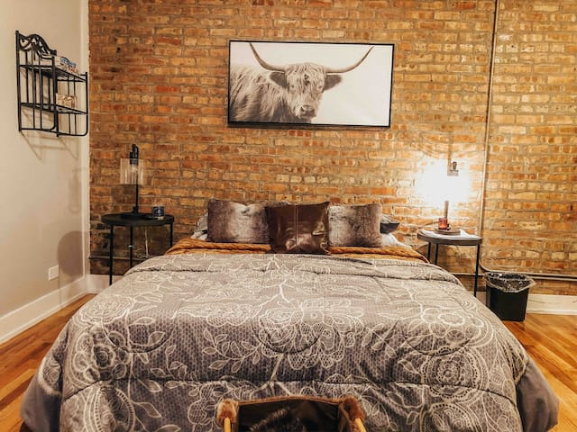 Stunning studio near Boystown / WrigleyField
